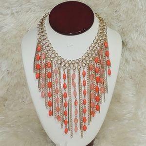 Thalia sodi bead light metal women necklace